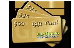 El Golfo Gift Cards