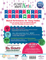 Musical Performances for Young Families