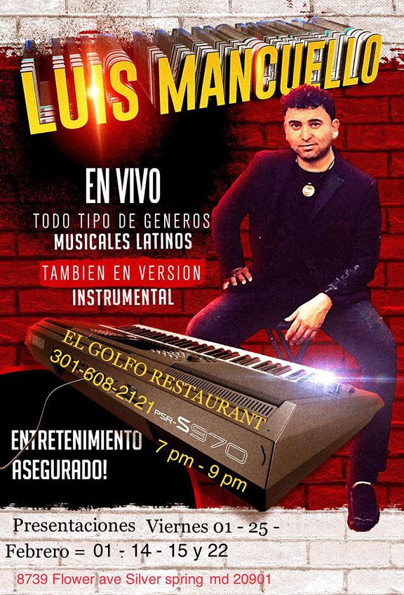 Luis Mancuello en Vivo
