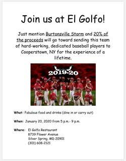 Join us at El Golfo