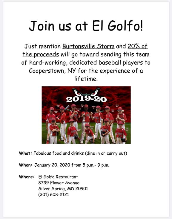 Join us at El Golfo